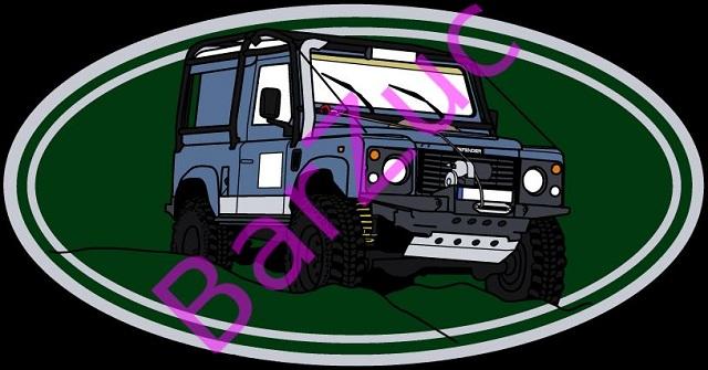 Seria Off-road, Land Rover Defender, wzór 2